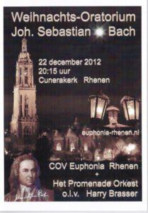 Overige medewerkenden: Caroline Stam (s), Dorien Lievers (a), Jeroen de Vaal (t), Robbert Muuse (b), Elly Meijer - Klein orgel